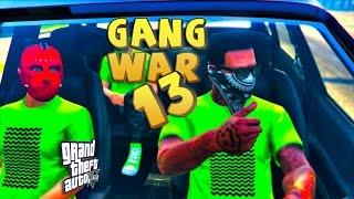 GTA 5 THUG LIFE #13 - GANG WAR BLOOD VS CRIPS | XBOX VS PS4