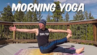 Gentle Morning Yoga Stretch Routine - Sean Vigue Fitness