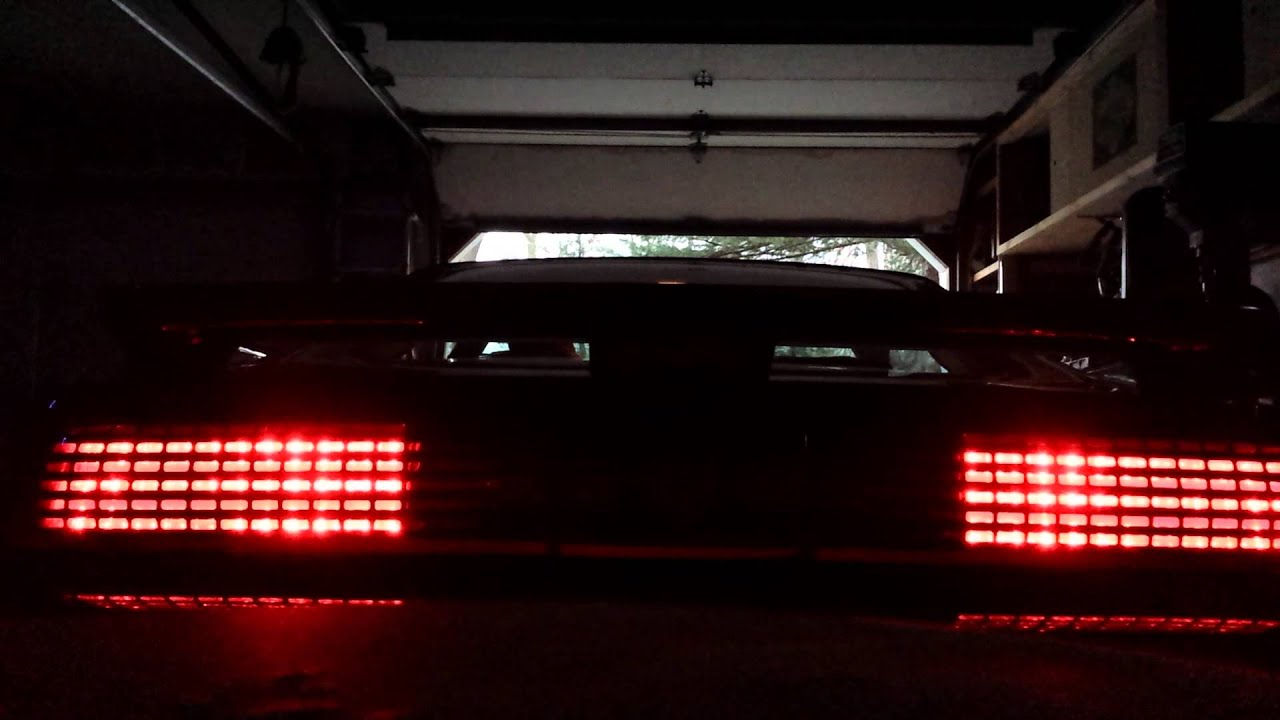 Sequential Tail Lights On A 1988 Trans Am Youtube
