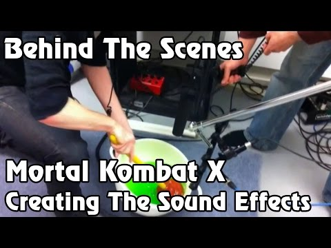 Mortal Kombat X Behind The Scenes - Creating The Sound Effects [1080p]