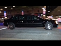 United States President Trump Presidential Motorcade With U.S. Secret Service & NYPD In Manhattan