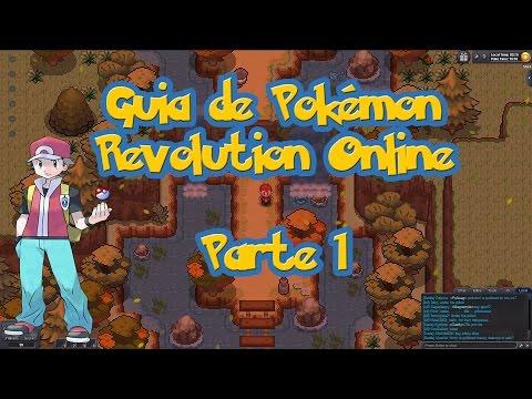 Guia de Pokémon Revolution Online - Parte 1 / Cómo Escoger a Pikachu como Pokémon Inical