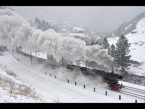 Pacific 01 202 - C5/6 2969 - Gotthard - Mars 2018