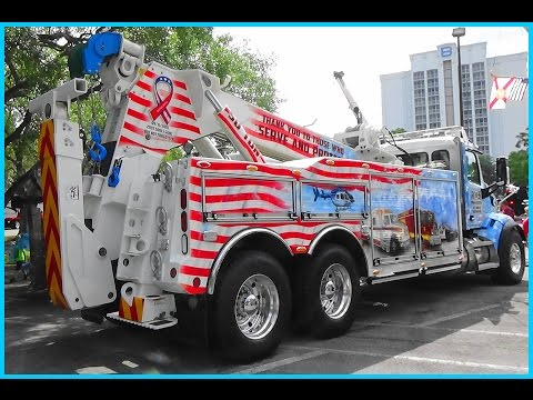 2017 Tow Show, Orlando Florida , Tow Truck Beauty Contest, Amazing Paint Jobs