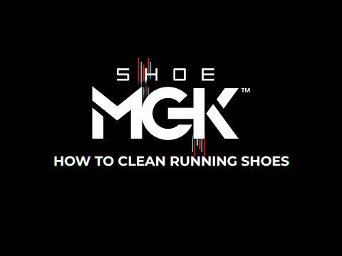 How to clean Running Shoes (SHOE MGK)
