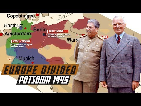 Potsdam 1945 - Post-World War Division Of Europe