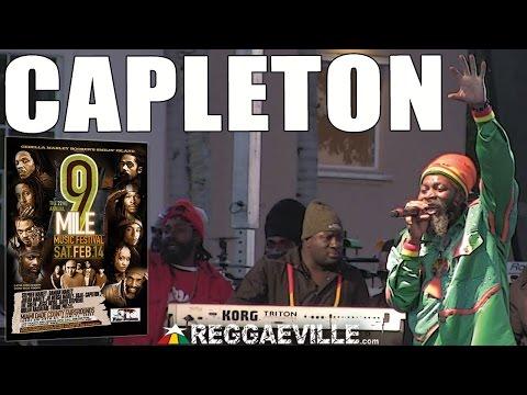 Capleton   No Guns @9 Mile Music Festival in Miami, FL February 14th 2015
