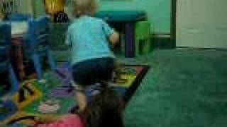 Toddlars Kick Up Their Heels At 9:30 Am During Baby Nap Time.