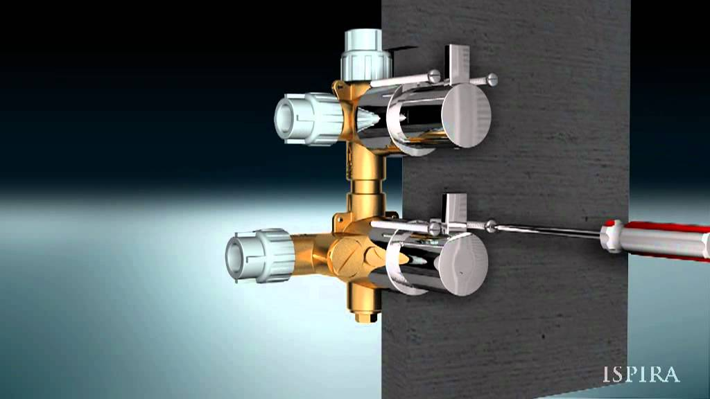 Ispira Installation Guide   Thermostatic Shower Valves   YouTube