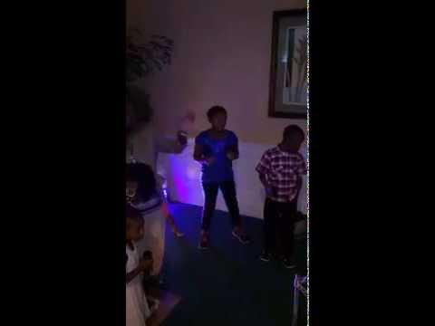 Family reunion karaoke night