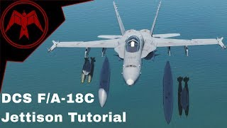 DCS F/A-18C Hornet Jettison Tutorial