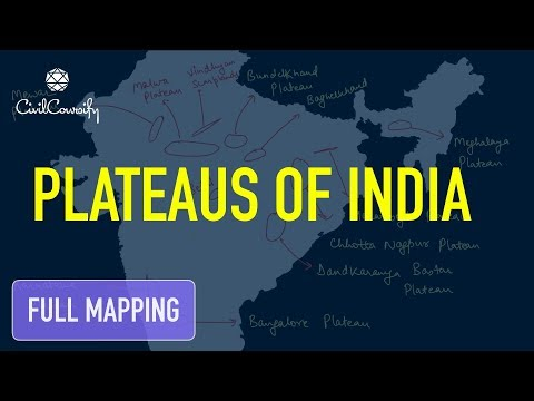 Important Plateau of India | Full Mapping Practice
