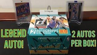 2018-19 Panini Donruss Basketball Jumbo Hobby Box Break - 2 Autos Per Box - $95 Per Box