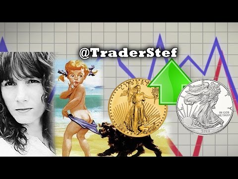 Price Targets for Gold & Silver to Moonshot...SURPRISE! - Trader Stef Interview