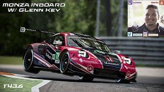 Onboard Monza w/Glenn Key in Porsche 911 RSR