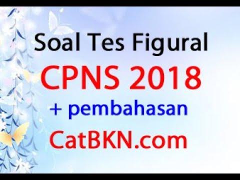 Soal Tes Figural CPNS 2018 Dan Pembahasan Jawabannya