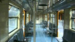 Metro de la Ciudad de México: Interior de un NM-73 B en El Rosario, Línea 7