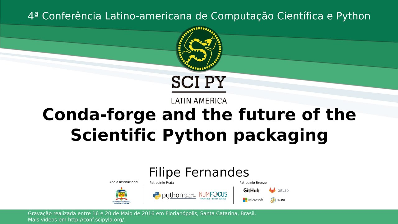 Image from CondaForge and the Future of Scientific Python packaging