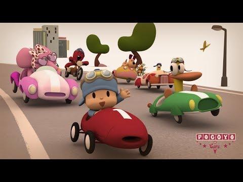 Pocoyo & Cars: The Great Race!