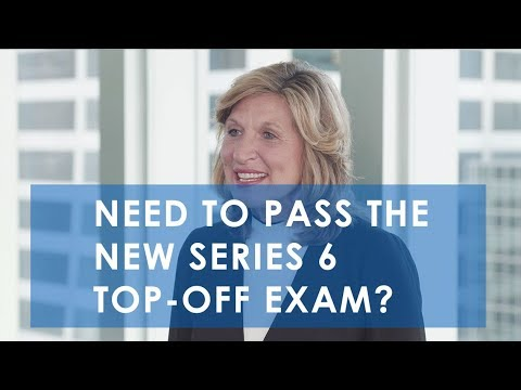How To Pass the New Series 6 Top-Off Exam   Knopman Marks