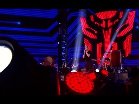 "TRANSFORMERS: AOE - Imagine Dragons - ""Battle Cry"" - Official Hong Kong Global Premiere [HD]"
