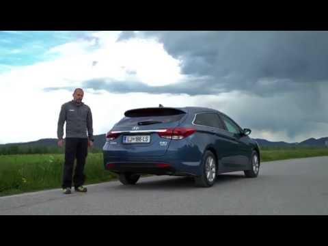 2016 hyundai i40 wagon 1.7 CRDi HP DCT style test