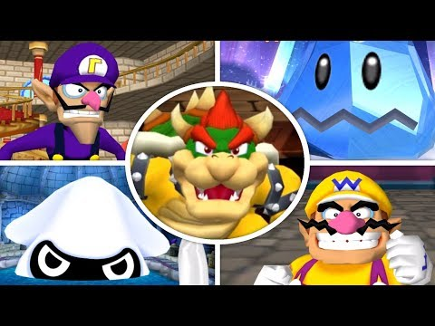 Dance Dance Revolution: Mario Mix - All Bosses