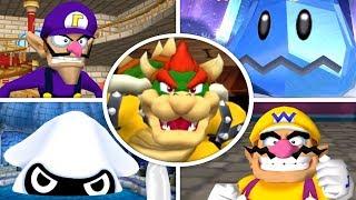 Dance Dance Revolution: Mario Mix - All Bosses