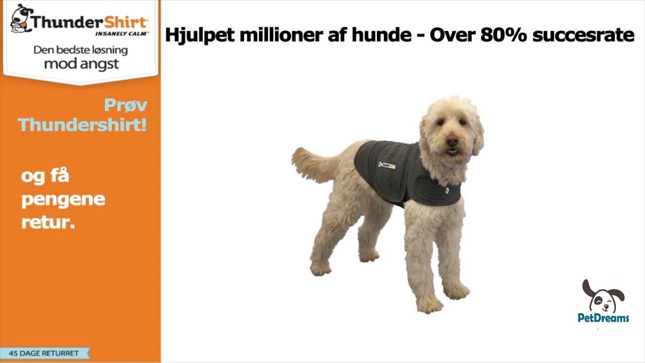 Folkekære → Thundershirt Tryghedsvest Til hunde - Vejen Ud Af Angst & Gøen RS-96