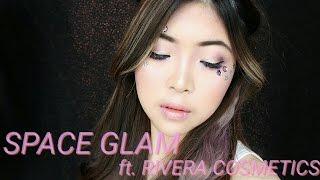 SPACE GIRL MAKEUP ft. RIVERA COSMETICS | itsJacquie