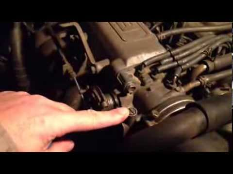 How to fix surging idle Toyota Truck 22r motor - YouTube