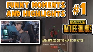 Summit1g HIGHLIGHTS AND FUNNIEST MOMENTS PUBG 1 Summit1g Plays PlayerUnknown& 39 s Battlegrounds