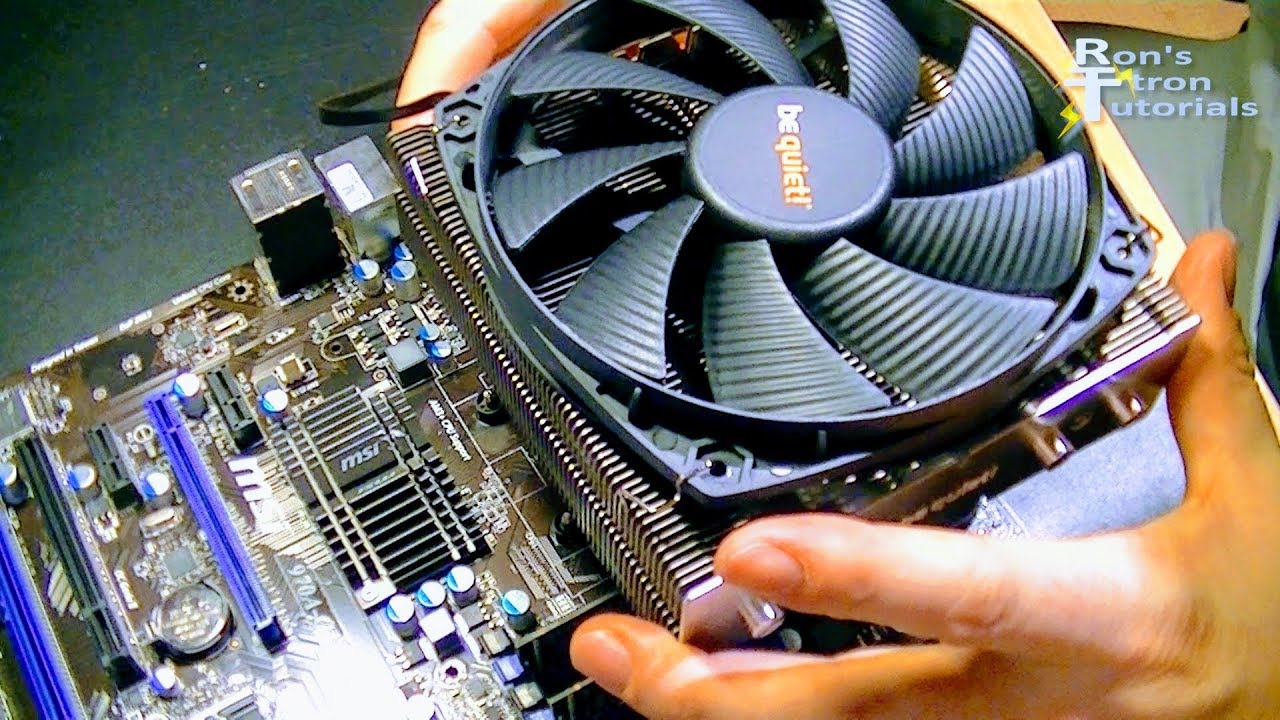 How To Replace Loud Computer Fan Install Replace Loud
