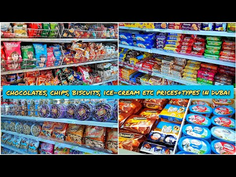 Chocolates, Chips, Biscuits Etc Prices In Dubai | Dubai Supermarket | Dubai Grocery Shopping