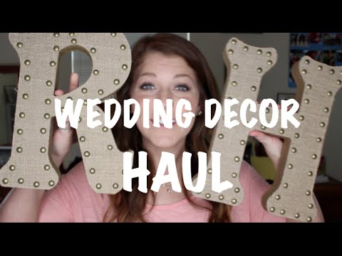 wedding home decor hobby lobby haul