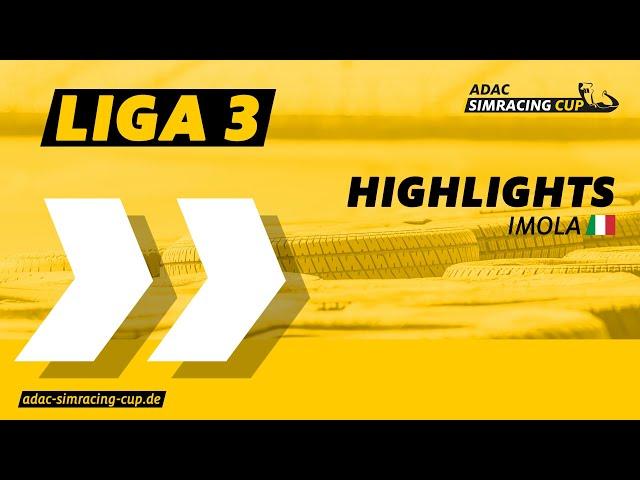ADAC SimRacing Cup Highlights | Sommer Saison | Liga 3 | Imola