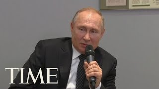 Vladimir Putin Says An Unlimited Presidential Term In Russia Would Be 'Very Disturbing' | TIME