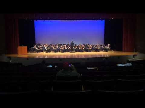 Another Jamestown high school band performance 2018