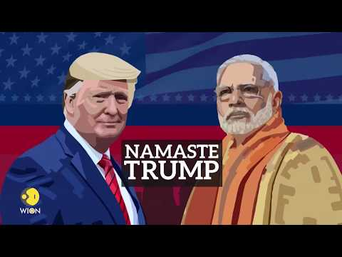 Watch India's favourite international news network as Trump visits India