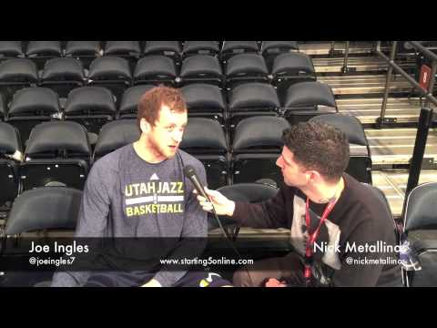 Utah Jazz' Australian Joe Ingles Talks About Life In The ...