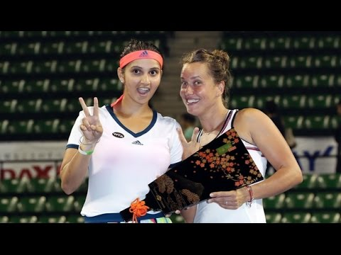 Sania Mirza-Barbora Strycova win Pan Pacific Open