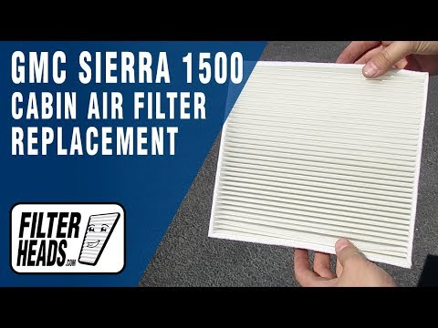 How to Replace Cabin Air Filter 2015 GMC Sierra 1500