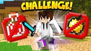 NO Healing CHALLENGE! (Minecraft Battle Royale)