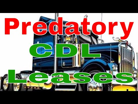 Unlikable CDL Truck Things | Predatory Lease & Owner Operator Programs | RVT