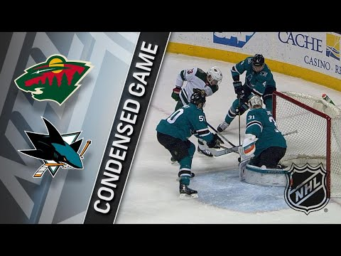 04/07/18 Condensed Game: Wild @ Sharks