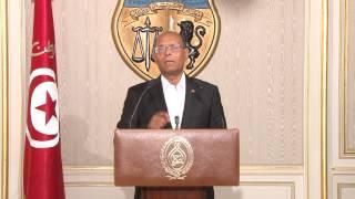 كلمة رئيس الجمهورية للشعب التونسي بمناسبة الإنتخابات التشريعية