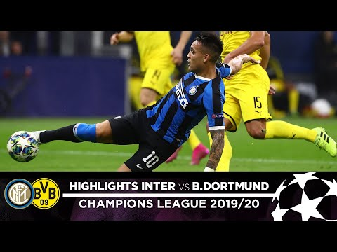 INTER 2-0 BORUSSIA DORTMUND | HIGHLIGHTS | Matchday 03 - UEFA Champions League 2019/20