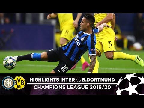 Inter 2-0 Borussia Dortmund   Highlights   Matchday 03 – Uefa Champions League 2019/20