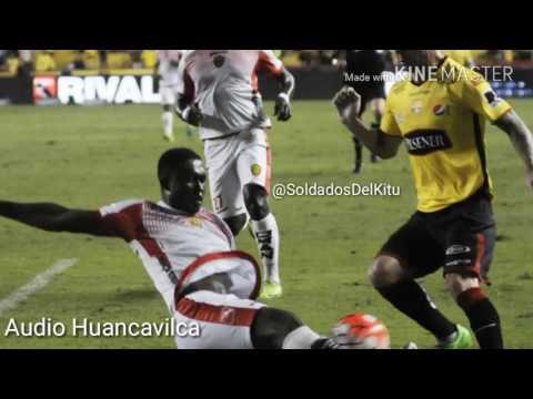 AUDIO Radio Huancavilca . Gol de Damián Diaz vs Fuerza Amarilla 2-0. Segunda Etapa 2017.