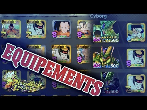 EQUIPEMENT Z - DRAGON BAL LEGENDS FR